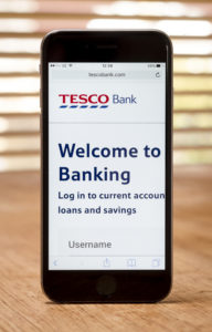 tesco mobile banking