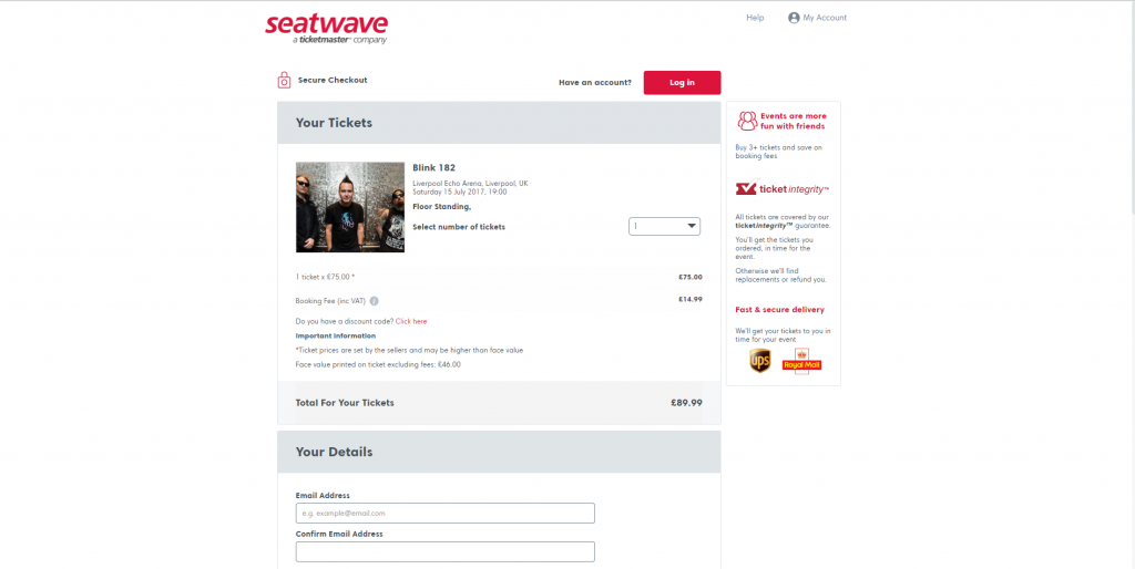 How to use Seatwave